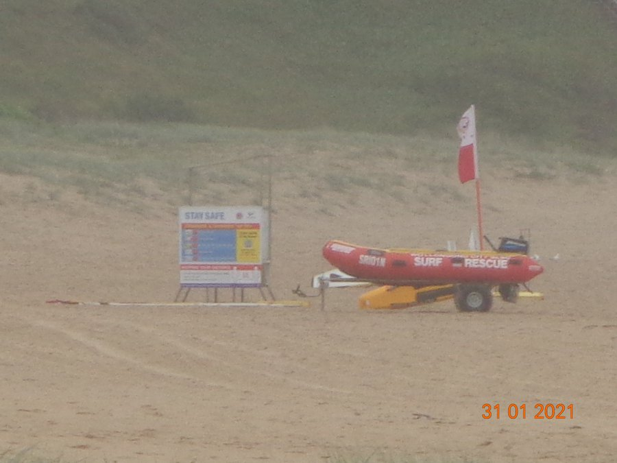 Surf Life Savers on Beach